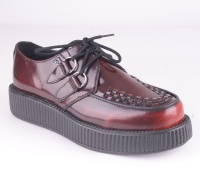 AV9053 Viva Lo Creeper Burgundy Rub-Off